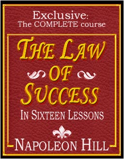 FREE Download 'The Law of Success in Sixteen Lessons' By Napoleon Hill