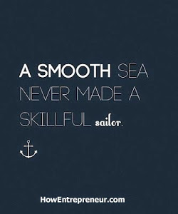 A smooth sea quote for aspiring entrepreneurs
