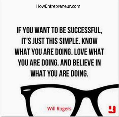 Recipe for success  will roger quote for aspiring  entrepreneur