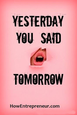 Yesterday you said tomorrow quote